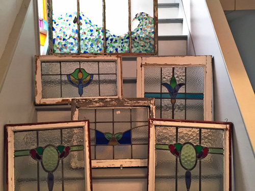 painted decorated windows